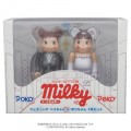 2014 Peko Poko bearbrick set100%-wedding Medicomtoy